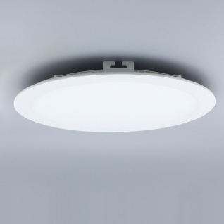 Licht-Design 30815 Einbau LED-Panel 2140lm Dimmbar Ø 30cm Neutral Weiss