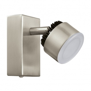 Eglo 31481 Armento 1 LED Spot Nickel-Matt Schwarz