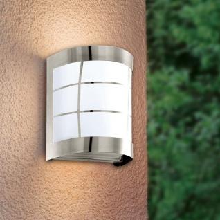 Cerno LED Aussen-Wandleuchte Edelstahl Wandlampe Aussenlampe