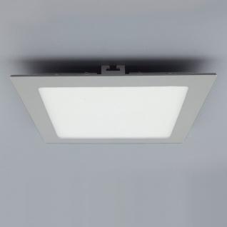Licht-Design 30829 Einbau LED-Panel 2140lm Dimmbar 30x30cm Kalt Silber