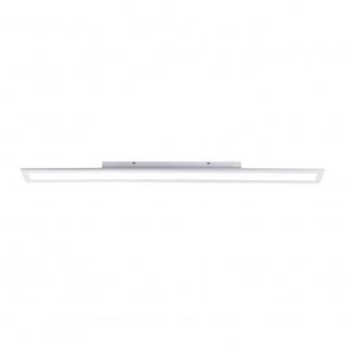 Licht-Trend Q-Flat 1Q-Flat 120 x 10cm LED Deckenleuchte 4000K Weiß LED Deckenlampe