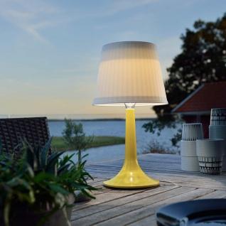 Solar LED Tischleuchte Assisi Gelb Solar Gartenlampe Gartenleuchte