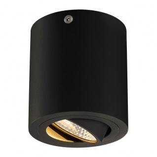 SLV TriLEDo Round Cl LED Aufbau-Downlight 38° Schwarz 3000K 113930
