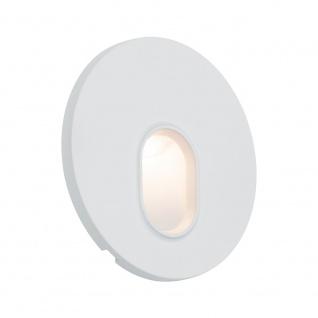 Licht-Trend LED Wandeinbauleuchte Box Ø 7, 8cm 100lm Weiß inkl. Leuchtmittel