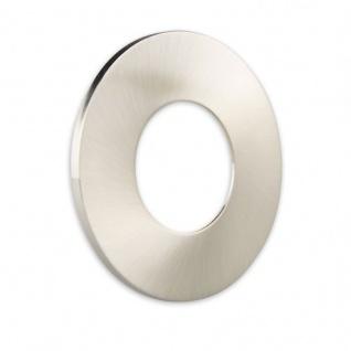 Cover für Einbaustrahler Sys-68 rund Nickel-Gebürstet
