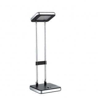 Wofi Mika LED Tischleuchte Schwarz Tischlampe