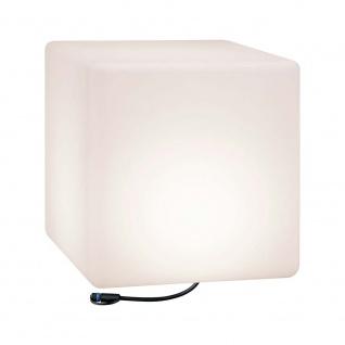 Paulmann LED Plug & Shine Lichtobjekt Cube 40x40cm IP67 24V 3000K 575lm 94182