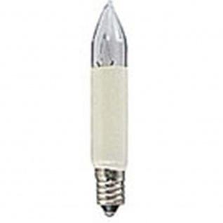 LED Birne universal 2er-Blister 2 warmweiße Dioden 6V E10 Schraubgewinde