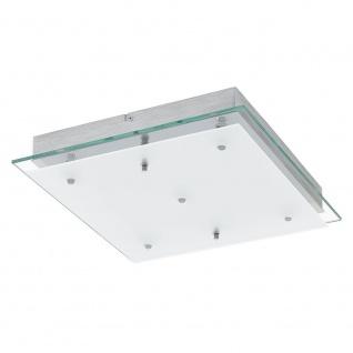 Eglo 93889 Fres 2 LED Wand- & Deckenleuchte 5-flammig Klar Weiß Chrom