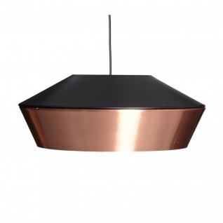 s.LUCE LED Pendelleuchte SkaDa Ø 40cm in Kupfer Schwarz Pendellampe Hängelampe - Vorschau 3