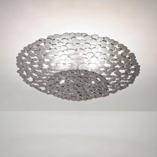 Terzani Tresor Deckenleuchte Silber Deckenlampe