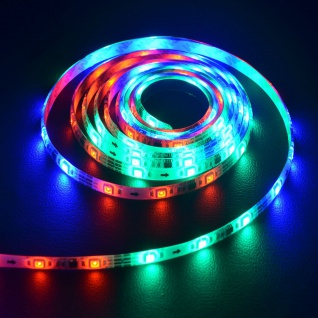 Digitaler LED-Strip RGB 5m Set 150 LEDs 30W inkl. Fernbedienung Lichtband