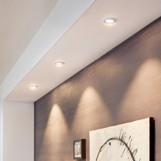 Eglo 95357 Tedo 1 LED Einbauspot 3er-Set Weiß