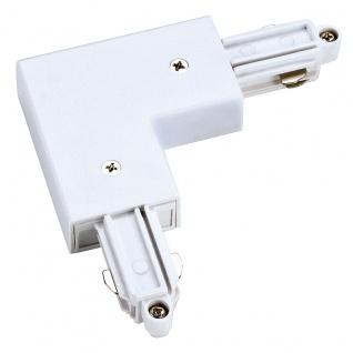 SLV Eckverbinder für 1-Phasen HV-Stromschiene Aufbauversion weiss Erde Innen 143061