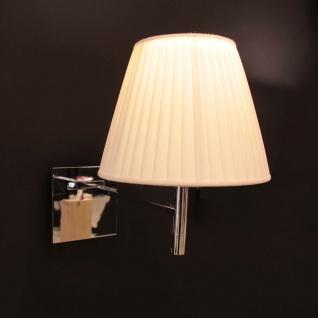 FLOS KTribe W Wandleuchte Soft Ø 24cm Chrom-Beige Wandlampe Designerleuchte