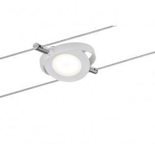 Paulmann Seil-Leuchte LED 1x4W RoundMac 12V DC Weiß 94088