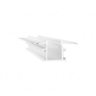 Ideal Lux Profil Slot Einbau Trimless 1, 2 x 200cm Weiß 203102