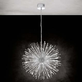 Eglo 39262 Kristall LED Hängeleuchte Vivaldo 1 Chrom Klar