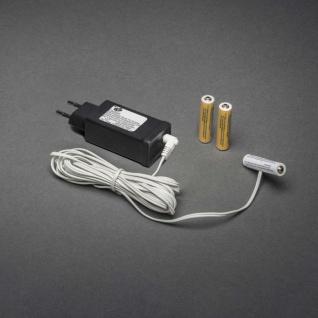Netzadapter für Batterieartikel mit 3 x AAA 1.5V Batterien 4.5V weißes Kabel