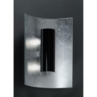 Kögl 92124 Aura Silber Wand- & Deckenleuchte 2-flammig Silber Schwarz 30cm - Vorschau