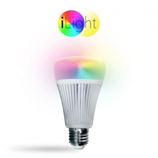 s.LUCE iLight E27 LED-Leuchtmittel 9W RGB+CCT LED-Lampe Farbwechsel & Dual White