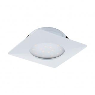 Eglo 95861 Pineda LED Einbaustrahler 1000lm Weiß
