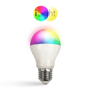 iLight E27 LED Glühbirne 6 W / RGBW Farbwechsel / Wifi Steuerung iPhone/iPad / LED-Lampe