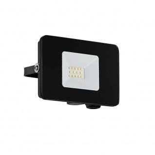 LED Aussenstrahler Faedo3 10W Schwarz