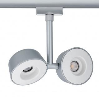 Paulmann URail Systems LED Spot Double Pellet 2x4W Dimmbar Chrom-Matt 95471 - Vorschau 3