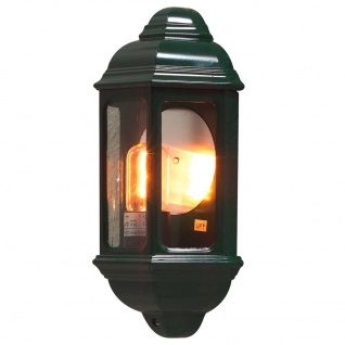 Konstsmide 7011-600 Cagliari Aussen-Wandleuchte Grün klares Glas