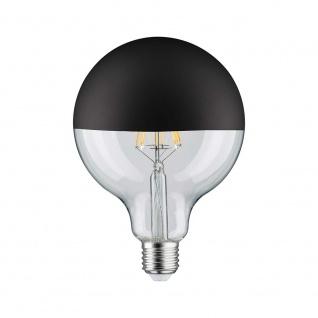 Paulmann LED Globe 125 5W E27 Kopfspiegel Schwarz matt 2700K dimmbar 28549 - Vorschau 2