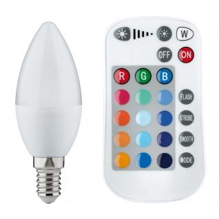 Paulmann LED Kerze Farbwechsel 3, 5W E14 mit Fernbedienung 28517