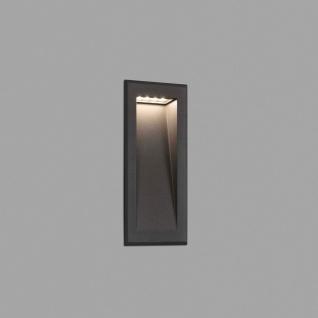 LED Wand-Downlight SOUN-2 IP65 Dunkelgrau
