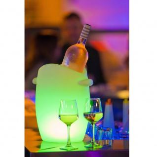 Akku LED-Flaschenkühler Fresh mit App-Steuerung 33cm