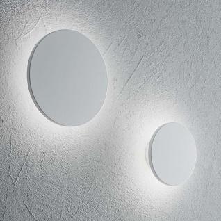 Ideal Lux LED Wandleuchte Cover Rund Klein Weiß 195704