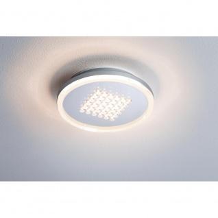 Paulmann 927.90 Aufbaupanel Premium Line 10W LED Alu geb Warmweiß rund