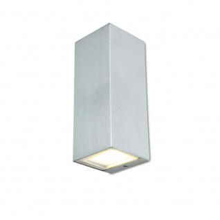 Lutec LED Außenwandleuchte Luca IP44 Edelstahl 5002301001