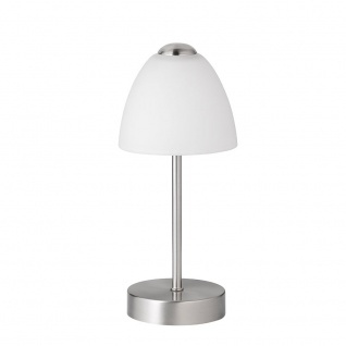 Wofi Varese LED Tischleuchte 1-flammig Nickel matt 847801640000