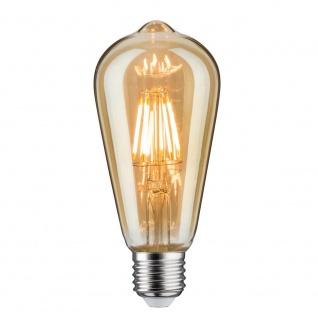 Paulmann LED Rustika (ST64) 7, 5W E27 Gold Warmweiß 28391