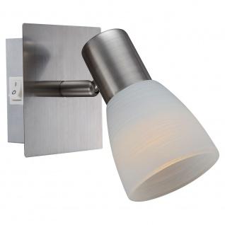 Globo 54534-1 Parry I Strahler Nickel-Matt E14 LED
