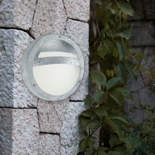 Eglo 88119 Sevilla Aussen-Deckenleuchte Ø 28, 5cm Feuerverzinkt Weiß