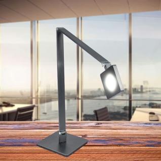 Licht-TrendLa Notte LED-Tischleuchte Touch-Dimmer 800 Lumen Anthrazit Tischlampe - Vorschau 3