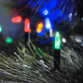 LED Minilichterkette 40 bunte Dioden 24V Außentrafo