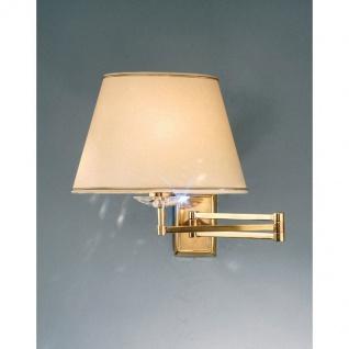 Kolarz Imperial Wandleuchte Altmessing Wandlampe