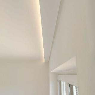 Dekor-Profil 6cm Stuckleiste 1, 2 m indirekt Wand oder Decke