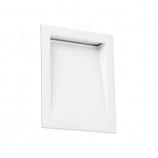 Soun-1 LED Outdoor Wand-Einbaustrahler IP65 Weiß