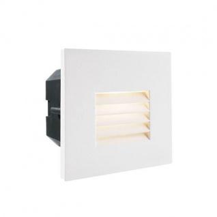 Abdeckung Gitter Weiß für LED-Einbauleuchte Steps Outdoor
