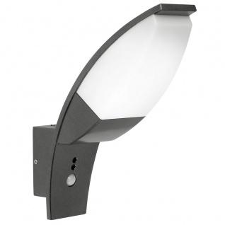 Eglo 93519 Panama 1 LED Aussen-Wandleuchte Anthrazit Weiß