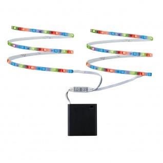 Paulmann LED Mobil Stripe RGB 2x80cm 1, 2W batteriebetrieben 70700