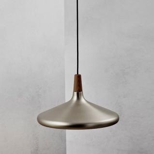 Licht-Trend Pinzantero 5 Stahl-Pendelleuchte Walnuss-Holz Stahl Pendellampe